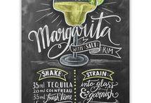 Cocktails, Bilder für die Bar + Rezepte