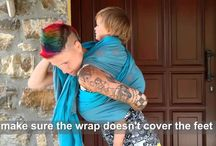 wrapping videos / #babywearing #wrap #instructionsvideo