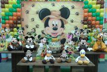 Decoração Mickey Clean
