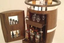 whiskey barrel furniture