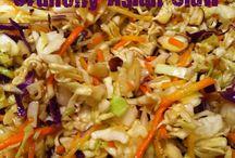 salads / by Kristi 'Burgau' Warren