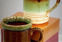 Drip Glaze Pottery / wonderful vintage  and new drip glaze pottery