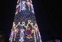 χριστουγεννιατικα δεντρα σε πολεις