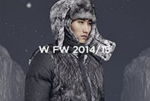 Moncler W Fall-Winter 2014/15 / Men in search of unexplored places, an adventure in extreme, isolated, frozen locations, wearing highly protective garments.   Discover the collection on http://moncler.com/ / by Moncler