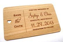 Wood wedding theme / Wood wedding theme ideas