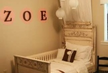 Eisley's Bedroom / Cute and clever ideas for Eisley's bedroom.