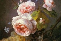 Roses etc. in art