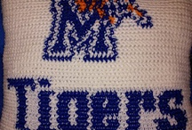 University of Memphis Fan Decorating and Tailgate Ideas / Here are some great decor, DIY, accessory and tailgate ideas for the aspiring ultimate University of Memphis fan!