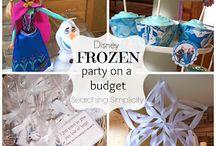 Frozen birthday / by Misty Goudis