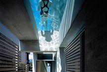 piscinas no teto