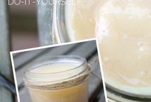 Homemade Lotions and Body Butters