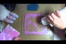 gelli plate video's