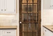 Creative Pantry Doors