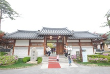 Traditional Korean restaurant 'Unamjung' scenery of the outsid / [Traditional Korean restaurant 'Unamjung' scenery of the outside ] ; Photo sketch in the High 1 Ski Resort in Jungsun, South Korea on May 28th, 2013.   English homepage.  http://www.high1.com/Hhome/main.high1 Korean homepage. http://www.high1.com/Hhome/main.high1 Blog.   http://blog.naver.com/high1cs FaceBook.  http://www.facebook.com/high1forcs Tweeter.  https://twitter.com/