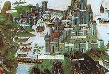 miniatury / ilustracje ze średniowiecznych rękopisów