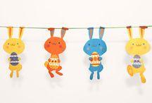 Frise lapin de Pâques