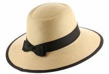 Panama Hats For Women / An accessory that any women can pull off. A panama hat makes a great addition to any wardrobe.