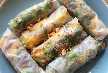 Ricepaper rolls