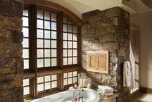 badkamers / De mooiste badkamers van de wereld. Gemaakt door Bep van Laaren.