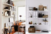 Shelves, cabinets, closets and storage