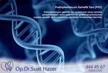 Genetik / Tüp Bebek Tedavisinde genetik hakkında bilgiler yer almaktadır.