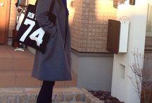 冬のファッション
