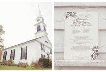 Rustic Wedding Chapels / Classic chapel weddings with a rustic twist.