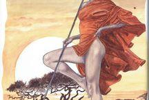 Manara Maestro Dell'Eros - Vol. 11 / Le Avventure Africane di G. Bergman
