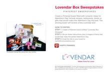 Lovendar Box #Sweepstakes / by Lovendar .com