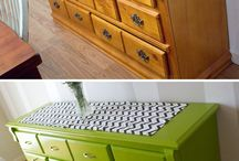 Painting furniture etc