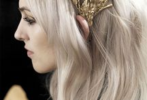 tolkien: galadriel / her hair was lit with gold as though it had caught in a mesh the radiance of laurelin