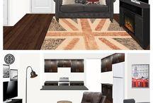 Havenly Living Room Renderings