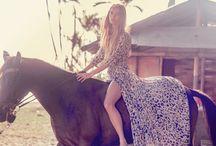 Western / Minha paixão por cavalos e moda existe dês de: sempre.