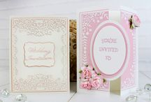 Wedding Collection / Here you can find some card samples used the Wedding Collection. For more information please visit www.tatteredlace.co.uk. / by Tattered Lace®