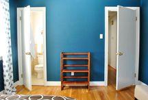 Decor: Blue office