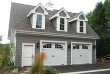 Garage Plans With Lofts / Having a garage with a loft above it is a simple and cost effective way to have room for more storage, a hobby center, home office or future living quarters.