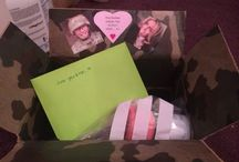 Care Packages / Some of the care packages I sent to my action man when he was working far away!