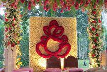 Hindu Spring Wedding Floral Decor
