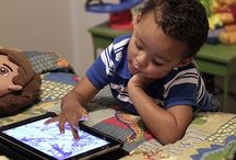Kids & Technology / With technology quickly infiltrating more aspects of our daily lives, society is faced with new challenges in childhood development, family dynamics and relationships, and learning.