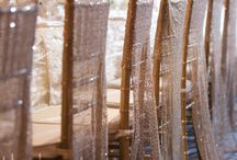 Wedding Chair Decorations / Add beautiful elements to your guests chairs maybe a sign, frill, ribbon, flowers or sashes. / by Coast to Country Weddings