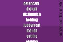 Law School Vocabulary
