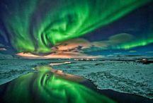 Lights, skies