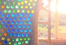 Bottle Walls / Ideas for the walls we want to build.