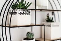minimalist wall shelf
