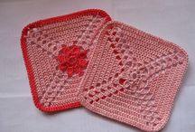 crochet / motifs points idées / by isa bricole