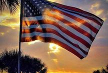 America - Red, White and Blue / by Cindy Dunn