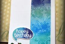Birthday Cards / Handmade birthday cards