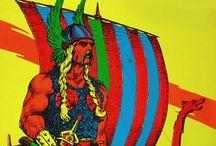 NORSE / N♥RDIC / NORMAN / VIKING / Viking Age and Norsemen (Scandinavian) warriors, explorers,settled in large areas of Europe & N.Atlantic Islands, between 8 &11c, using their longships, to travel the~~~Seas~~~