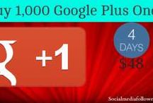 Buy Real Google Plus Ones / The Google plus one signal that your website has something interesting. When you buy google plus ones you get better search engine rankings for your site.