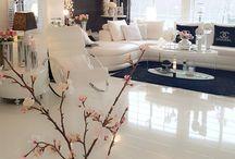 Møblering stue.